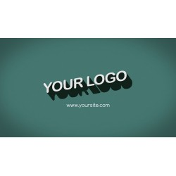 Video Logo im 60er Design