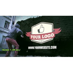 your logo with thumbs up...