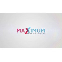 maximum as your logo with...