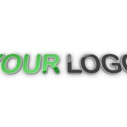 Your logo shown in 3 angles...